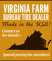 Virginia Farm Bureau Tire Dealer Made in the USA!
