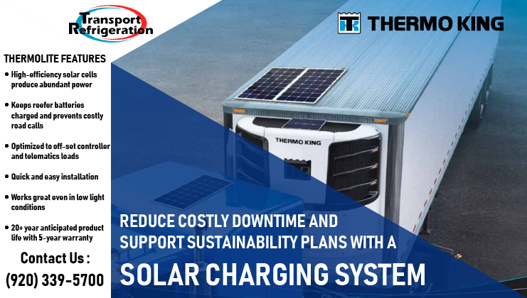 Thermolite Solar Panels Transport Refrigeration Inc De