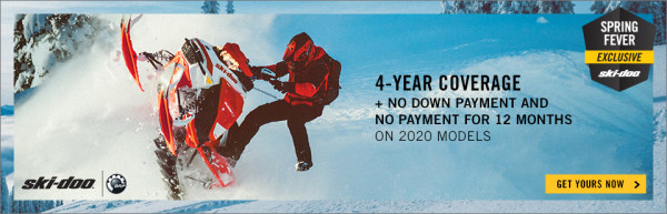 Pre-Order your new 2020 Ski-Doo now! For a limited time only!