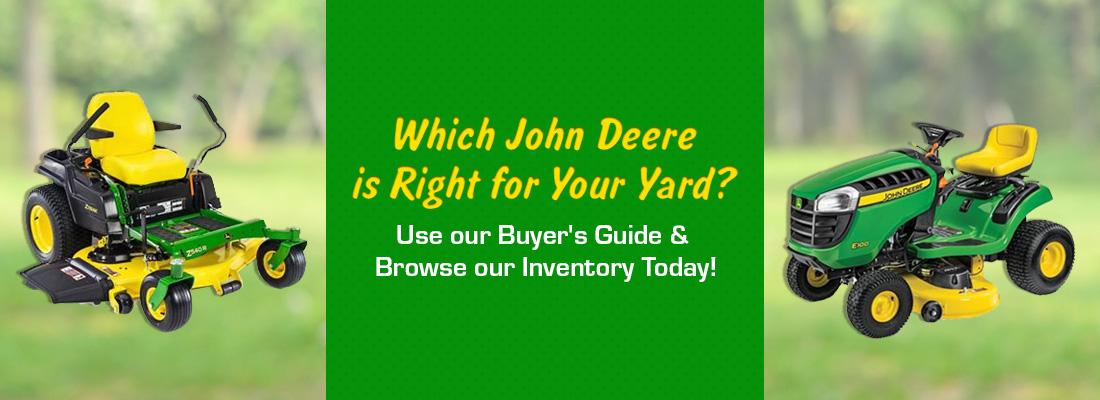 John Deere Residential Lawn Mowers