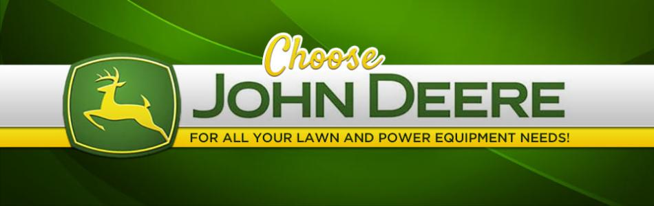 Choose John Deere