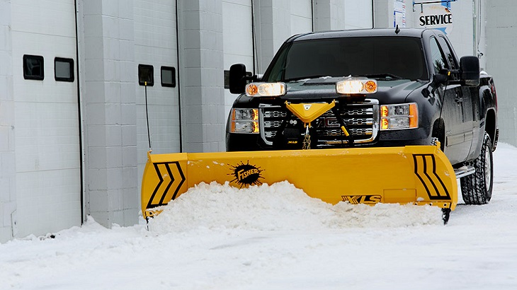 Fisher Snowplows only at New England Power Equipment in Conneticut