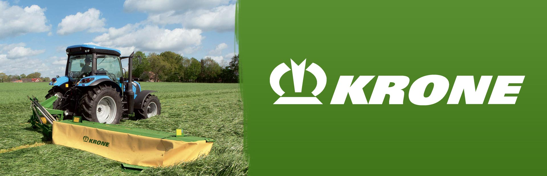 Krone Mowers: Click here to view the models.
