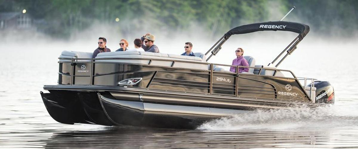 Regency Luxury Pontoons available in in Madison, WI