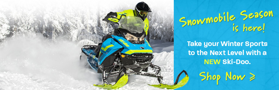 Shop Snowmobile Banner