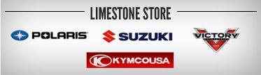 Limestone Store: Polaris, Suzuki, Victory, and Kymco.