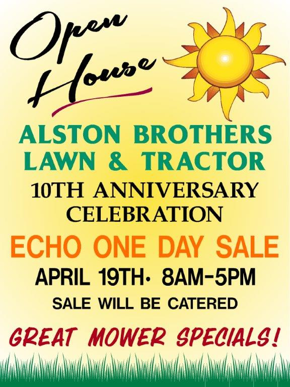 Page Alston Brothers Lawn & Tractor Mobile, AL (251) 479-2188