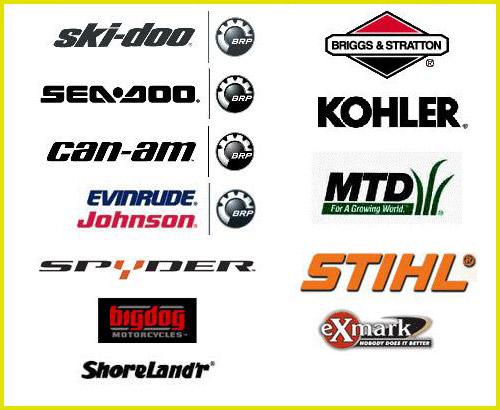 We stock a wide range of parts for these manufacturers.