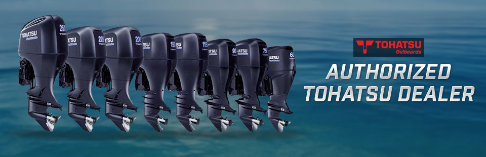 Heartland Marine & Motorsports is an authorized Tohatsu dealer.
