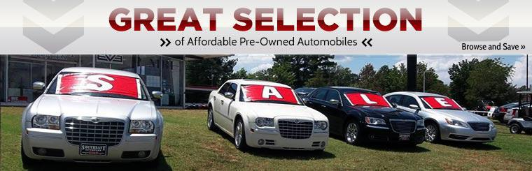 We have a great selection of affordable pre-owned automobiles. Click here to browse and save.