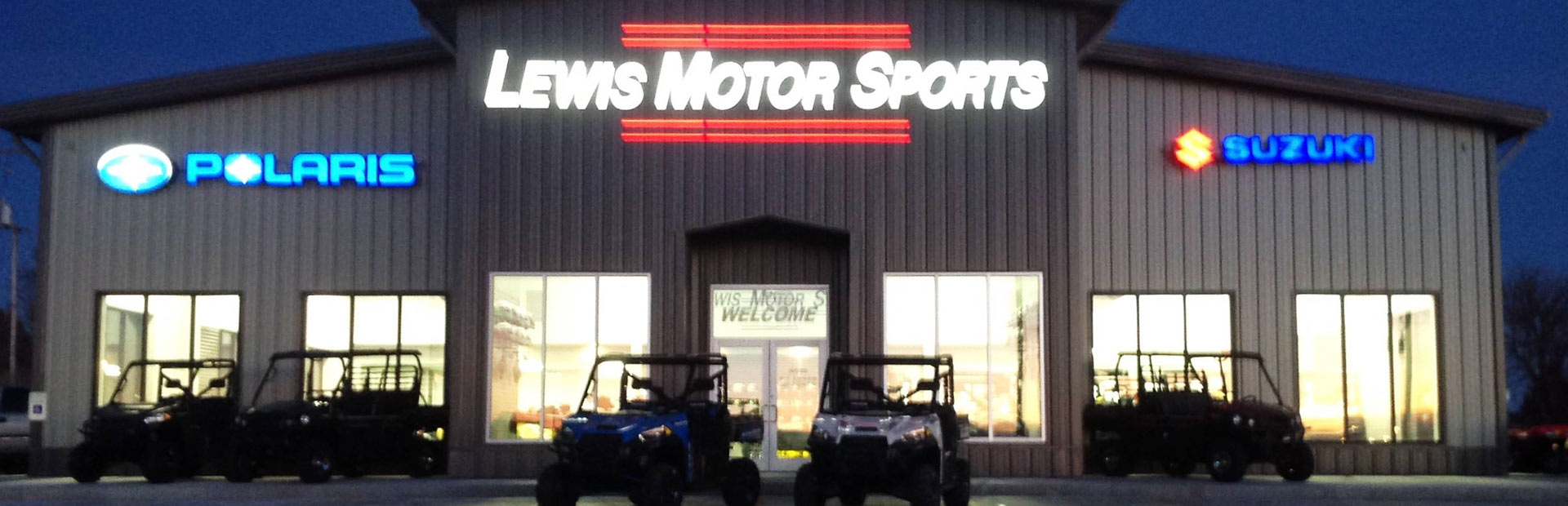 Lewis Motor Sports: Click here to contact us.