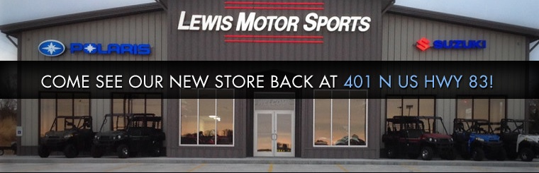 Come see our new store back at 401 N US Hwy 83!