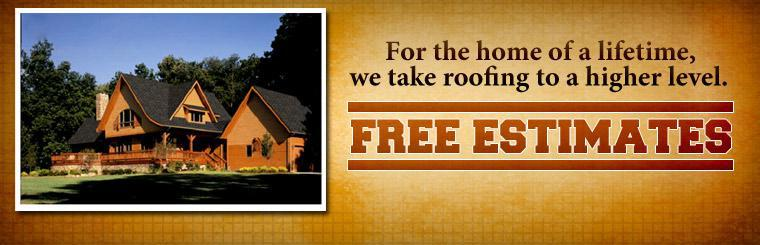 We specialize in roofing. Click here for more information and to get a free estimate.