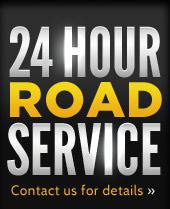 24 Hour Road Service - Contact us for details!