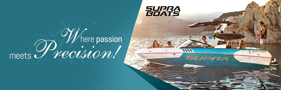 Supra Boats: Where passion meets precision!