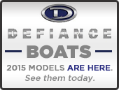 2015 Defiance Boats Are Here