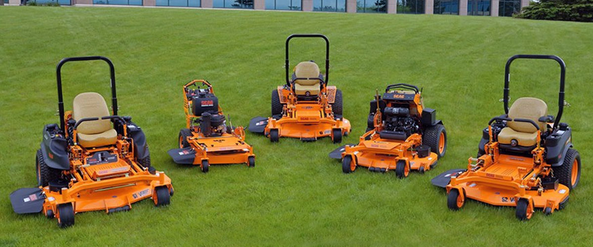 Scag Commercial Lawn Mowers Turf Tiger Cheetah Tiger