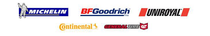 We proudly carry tires from Michelin®, BFGoodrich®, Uniroyal®, Continental, and General Tire.
