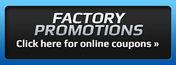 Specials: Click here for online coupons!