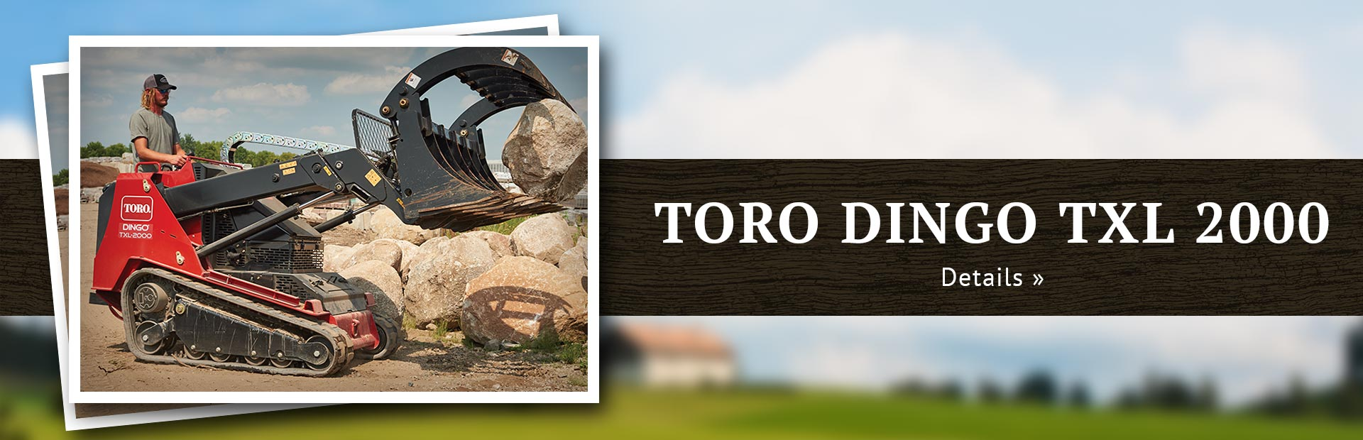 Toro Dingo TXL 2000: Click here to view the models.