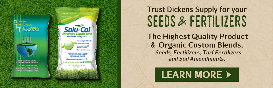 Shop  Lawn Seed, Pre-Emergents, Turf Products, & Fertilizers at Dickens Supply - #1 Source in TN!