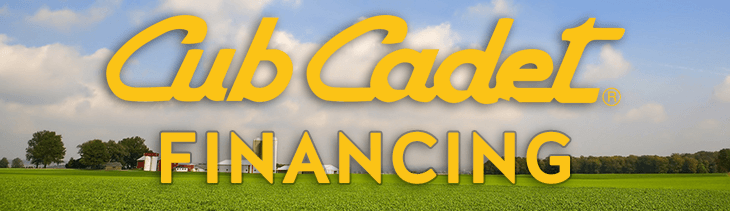 Cub Cadet Financing Offers