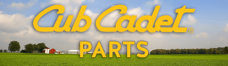 Genuine OEM Cub Cadet Parts