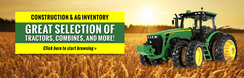 Preston Equipment offers a great selection of tractors, combines, and more! Click here to view our selection.