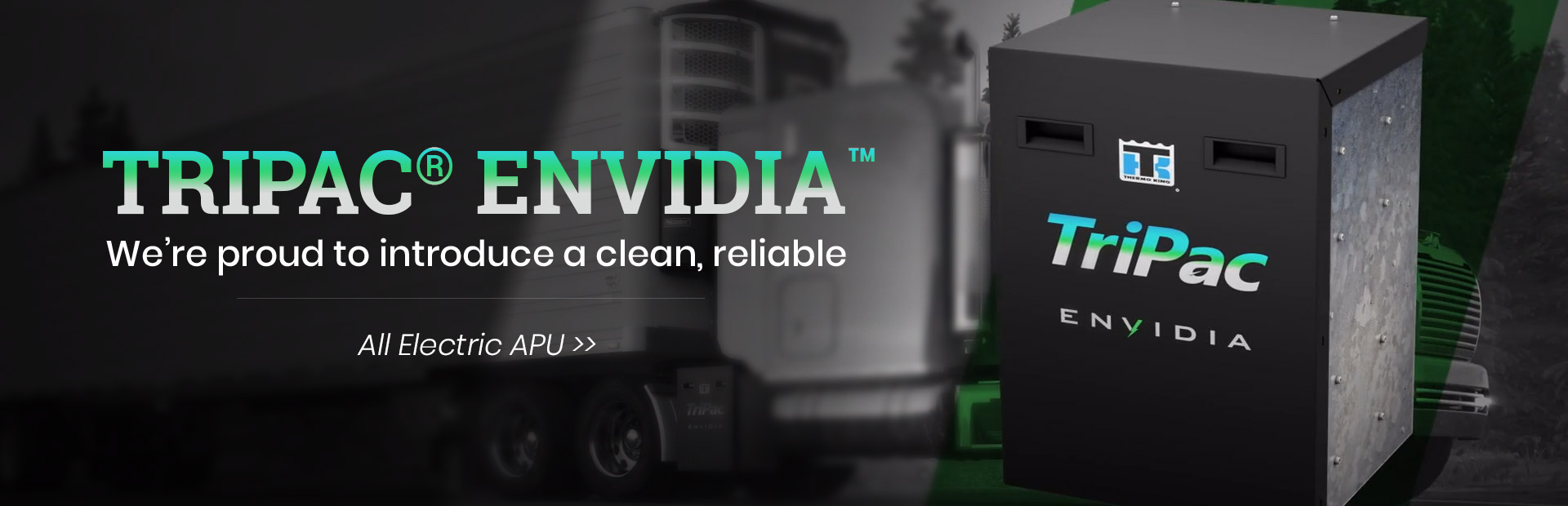 We're proud to introduce  the all-new TriPac® Envidia™!