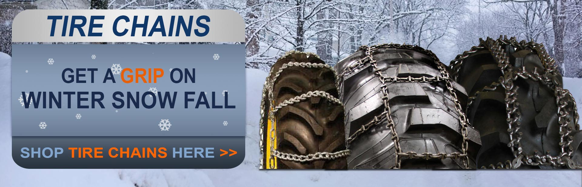 Shop Tire Chains Here!