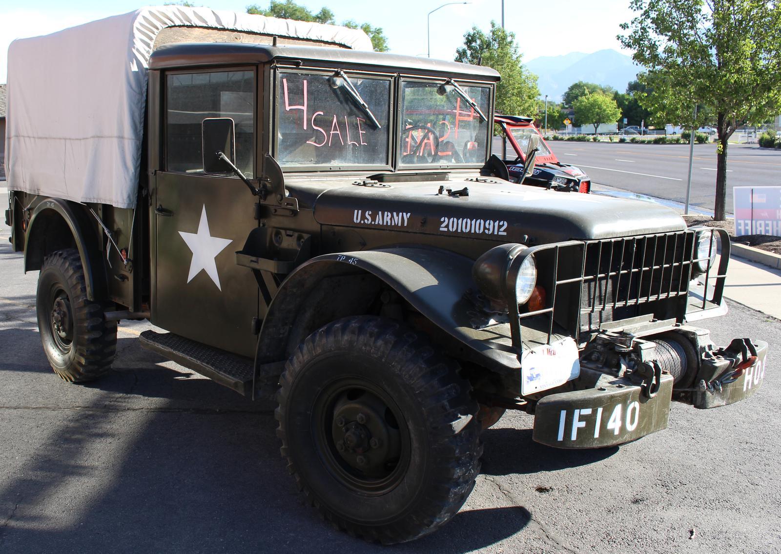 1953 Dodge M37 For Sale In Spanish Fork Ut Summit Motorsports Wiring Harness 801 405 7433