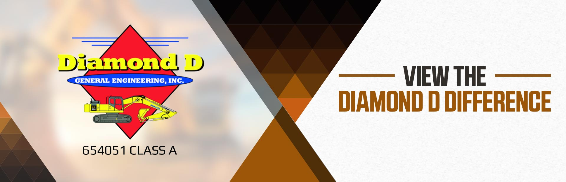 The Diamond D Difference: Click here for details.