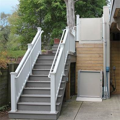 Vertical Lift Next To Stairs Cleaveland