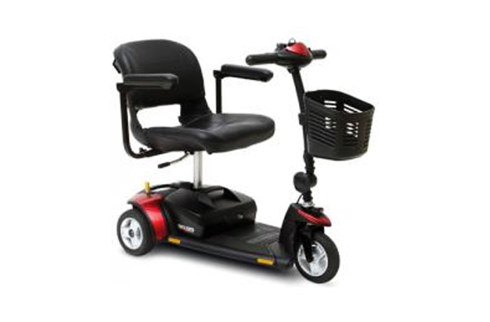Pride Go Go Three Wheel Elite Scooter