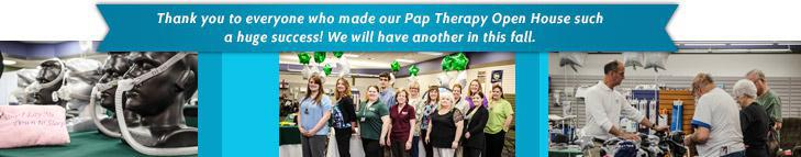 Thank you to everyone who made our Pap Therapy Open House such a huge success! We will have another in this fall.