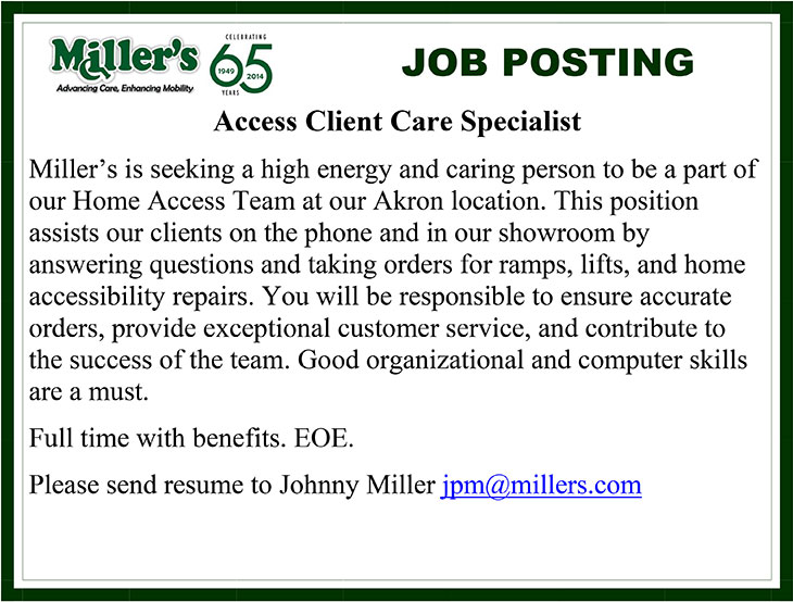 Access Client Care Specialist