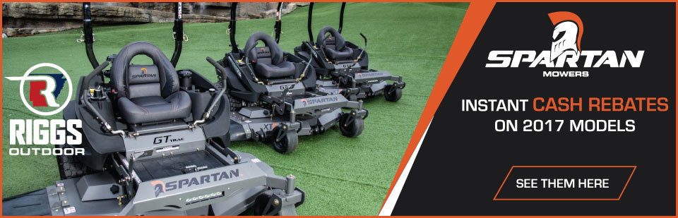 Spartan Mowers - Instant Cash Rebates