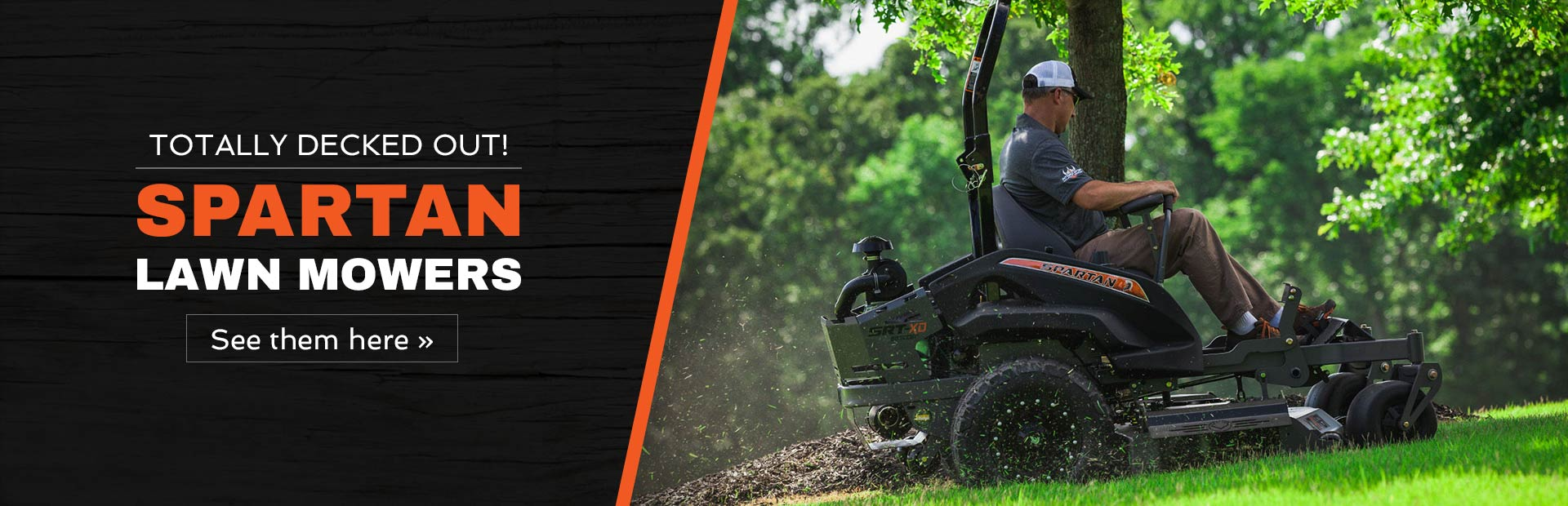 Shop All Spartan Mowers