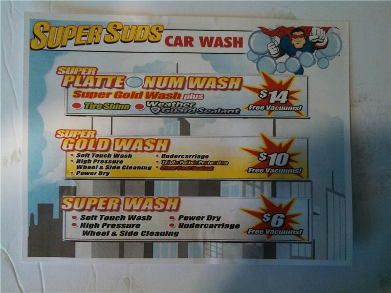 Car wash in north platte ne modern tire pros super suds car wash solutioingenieria Gallery