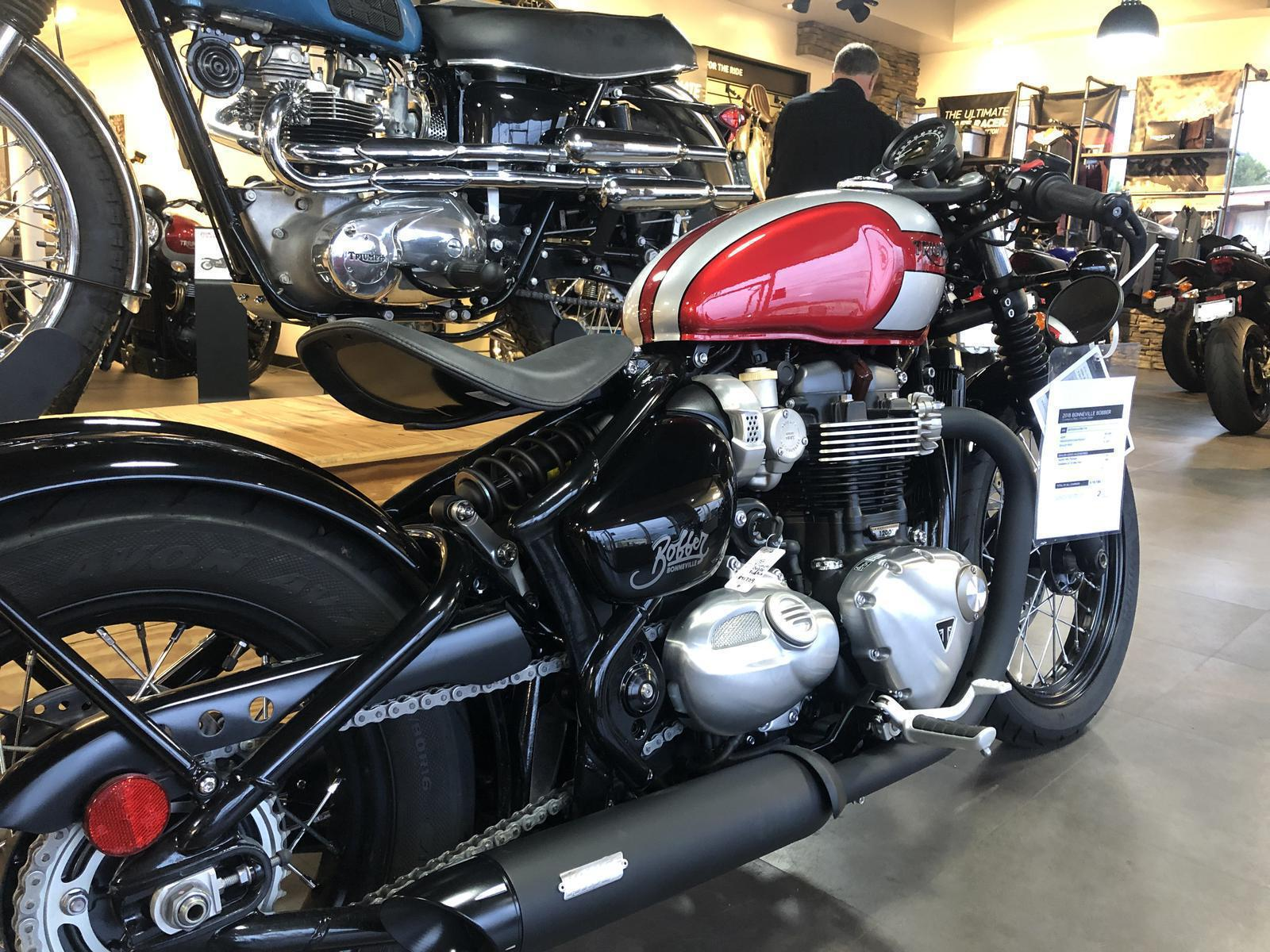 2018 Triumph Bobber For Sale In Buford Ga Hourglass Cycles 678