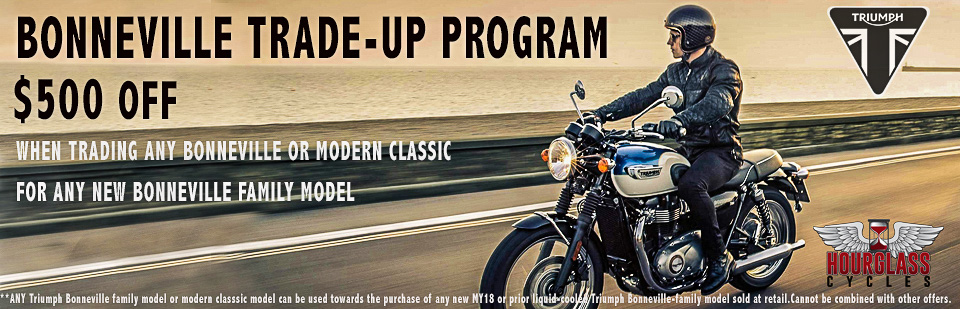 Bonneville Trade in program April 2018