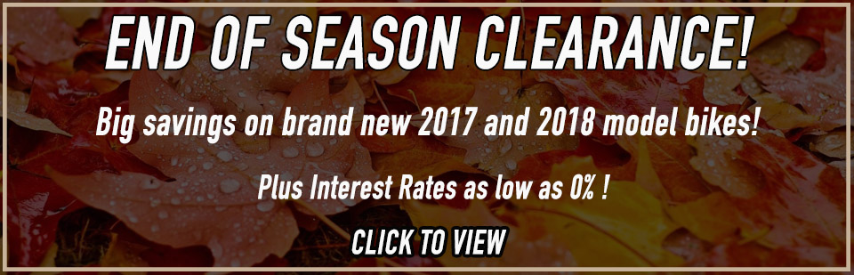 Fall Clearance Ad