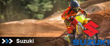 Suzuki Dirt Bikes at State 8 Motorcycles