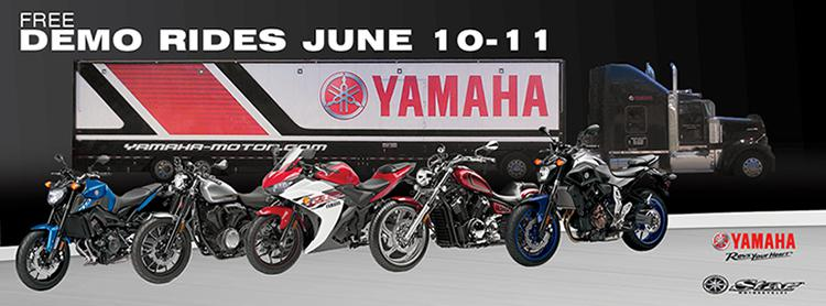 2016 yamaha demo days event at state 8 in peninsula state for Yamaha demo days