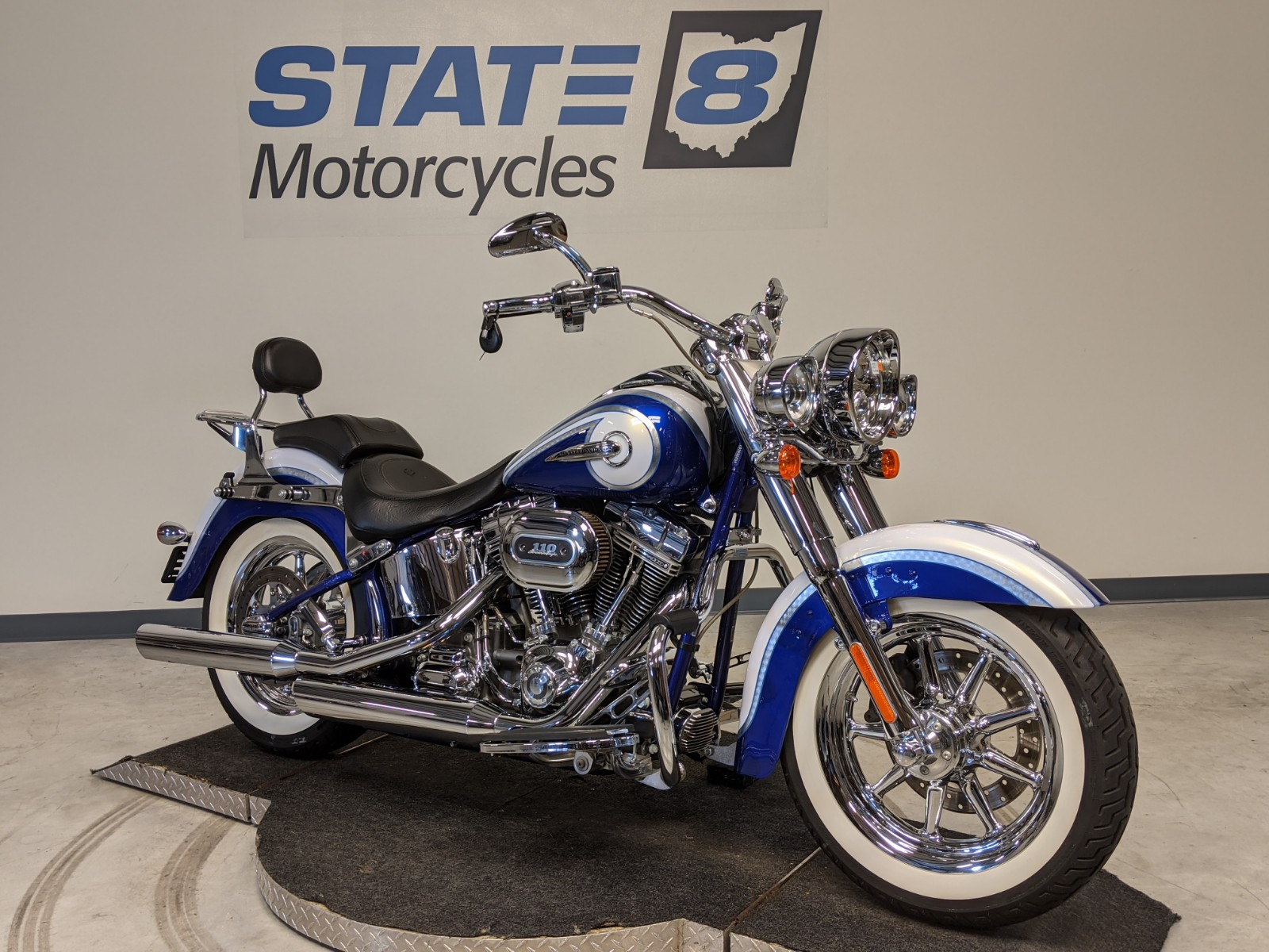 2014 Harley Davidson Softail Cvo Deluxe Flstnse For Sale In Peninsula Oh State 8 Motorcycles