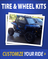 Tire & Wheel Kits. Customize your ride.