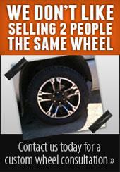 Contact us today for a custom wheel consultation.