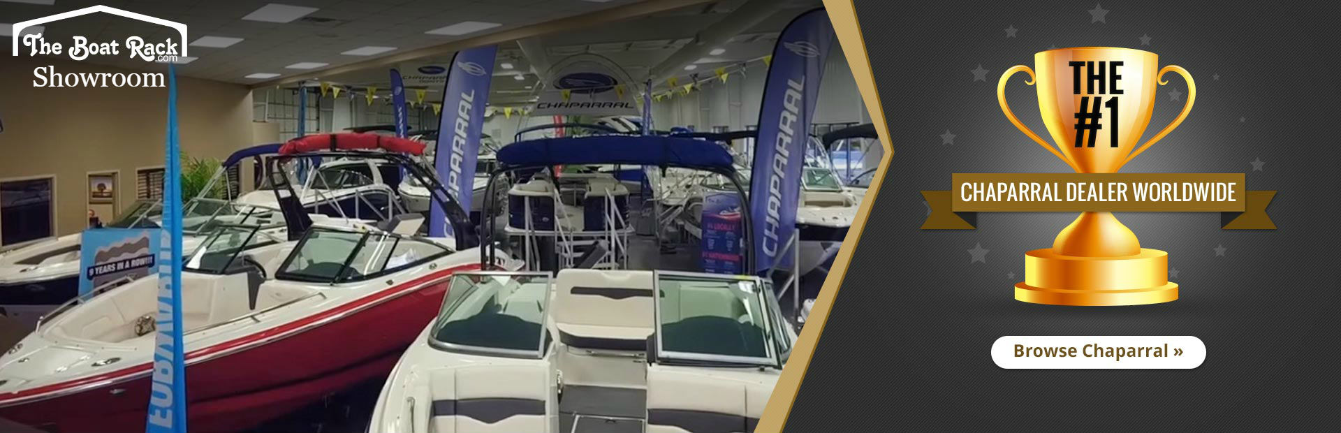 The Boat Rack is the #1 Chaparral dealer worldwide!
