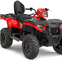 2018 Sportsman Touring 570 Indy Red