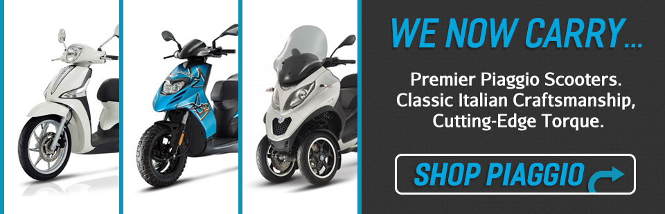 Piaggio Scooters & Motorcycles